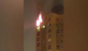 San Borja: edificio donde ocurrió incendio no tenía habilitado sistema contra siniestros