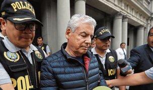 César Villanueva: confirman 18 meses de prisión preventiva