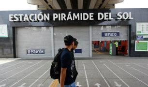 SJL: reabrió estación Pirámide del Sol del Metro de Lima