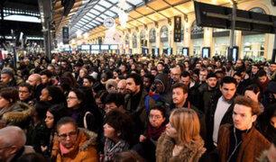 Francia: caos en París por la huelga del transporte