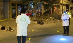 Los Olivos: dos muertos y un herido de gravedad deja balacera