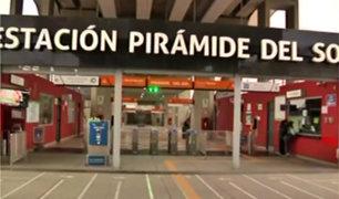 Metro de Lima: así luce la estación Pirámide del Sol tras su reapertura