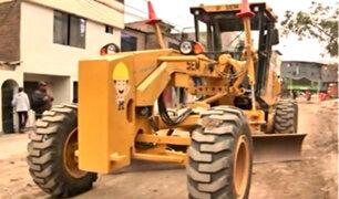 VMT: trabajadores de obra municipal denuncian ser víctimas de extorsión