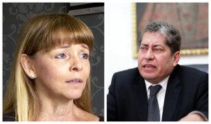 Espinosa-Saldaña: esposa defiende a funcionario de supuesto maltrato a trabajadora