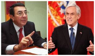 Velit sobre Piñera: No tiene pruebas que organización estuvo detrás de violencia en Chile