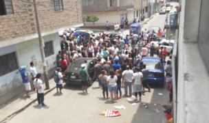 Terror en Independencia: reportan tres muertos tras feroz balacera
