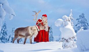 Finlandia: Santa Claus viene alistándose para recorrer el mundo esta Noche Buena