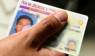 Nueva Jersey: aprueban ley que otorga licencias a indocumentados