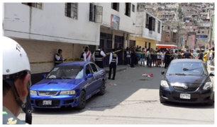 Independencia: balacera que dejó tres muertos habría sido por negarse a pagar cupos