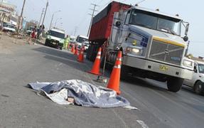 Ladrón muere atropellado por un tráiler segundos después de robar un celular en ATE