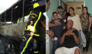 La Charanga Habanera: bus que trasportaba a orquesta salsera sufrió aparatoso accidente