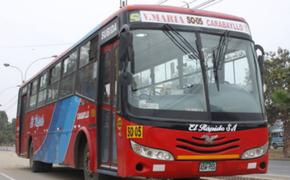 Comas: ladrón que intentó asaltar bus 'El Rápido' fue abatido por policía