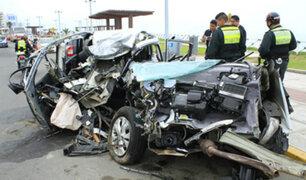 Casi 4 mil accidentes vehiculares han ocurrido en lo que va del 2019, según reportes de la Policía