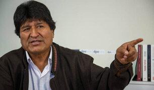 Fiscalía boliviana ordena detención del expresidente Evo Morales