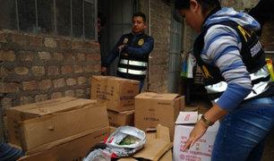 Huancayo: decomisan más de 3 toneladas de pirotécnicos en almacén clandestino