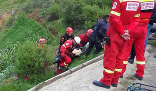 Despiste de vehículo deja un muerto y dos heridos en Áncash