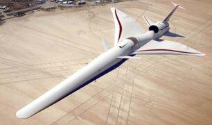 NASA: el primer jet supersónico y silencioso está listo para su ensamblaje final