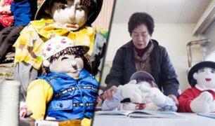 Japón: conozca el pueblo donde unos muñecos reemplazan a la gente