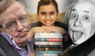 Reino Unido: niña de 10 años supera el intelecto de Einstein y Hawking