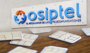 Osiptel advierte a operadoras que impondrá fuertes multas si continúan vendiendo chips en la calle