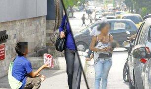 Realizaron nuevo operativo contra la mendicidad en Miraflores