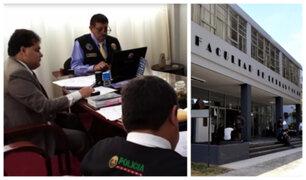 UNMSM: Fiscalía realizó diligencia en casa de estudios por presuntas contrataciones irregulares
