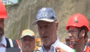 Muñoz tras derrumbe en Costa Verde: espero conciencia del Ejecutivo porque lo que necesitamos es dinero