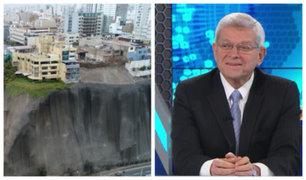 """Raúl Delgado sobre Costa Verde: """"Sismo de más de 8 grados sería devastador"""""""