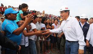 Presidente Vizcarra: No pararemos hasta concluir la reconstrucción del norte