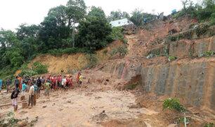 Intensas lluvias dejan incomunicados a cinco distritos de La Libertad