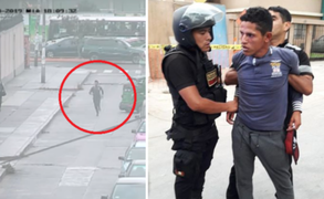 Serenos de Pueblo Libre capturan a venezolano que asaltó a comerciante