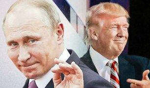 Vladimir Putin defendió a Donald Trump frente al juicio político
