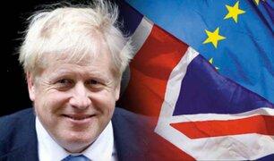 Brexit: Johnson publica la ley para romper lazos con la Unión Europea