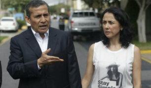 Ollanta Humala defendió a su esposa investigada por el caso Gasoducto Sur