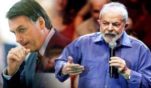 Brasil: Lula dice que Bolsonaro quiere destruir a Brasil