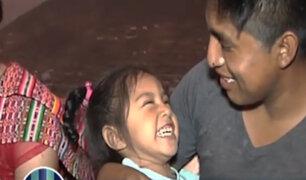 Conoce a Adrianita: la pequeña que lucha pese a tener parálisis cerebral