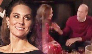 Reino Unido: Kate Middleton rechaza gesto cariñoso del príncipe William