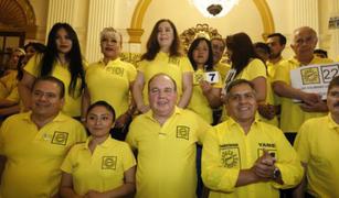 Solidaridad Nacional: JEE admite a trámite procedimiento sancionador en su contra