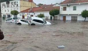 Tormenta Elsa golpeó diversas localidades de España