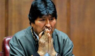 Expresidente Evo Morales fue demandado por usurpación de funciones
