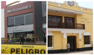 Caso McDonald's: Municipalidad de Pueblo Libre podría ser incorporada en responsabilidad penal