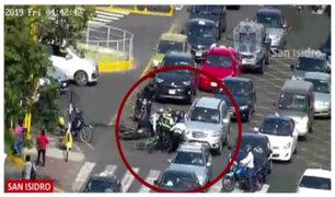San Isidro: presunto raquetero fue intervenido tras intensa persecución
