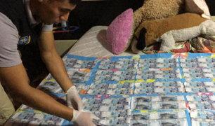 Cajamarca:  capturan banda  dedicada a la falsificación billetes