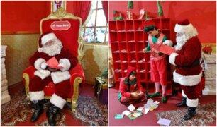 Villa Navideña: conoce el hogar de Papá Noel en Plaza Norte