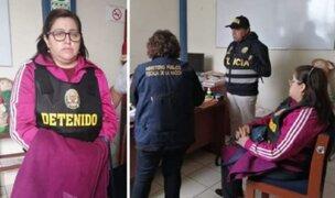 Huarmey: fiscal es detenida por vínculos con banda criminal de tráfico de terrenos
