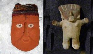 Suiza devuelve al Perú 48 piezas arqueológicas precolombinas