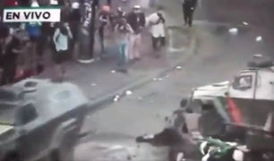 VIDEO: impactante atropello a manifestante agrava protestas en Chile