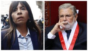 """Giulliana Loza: """"Jamás me he reunido o conversado con el magistrado Blume"""""""