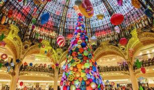 Curiosos árboles de Navidad: la tradición se va pero la esencia se mantiene