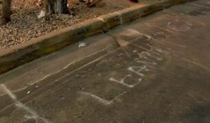 Enfrentamiento en Independencia: ambulantes desalojados habían lotizado espacios